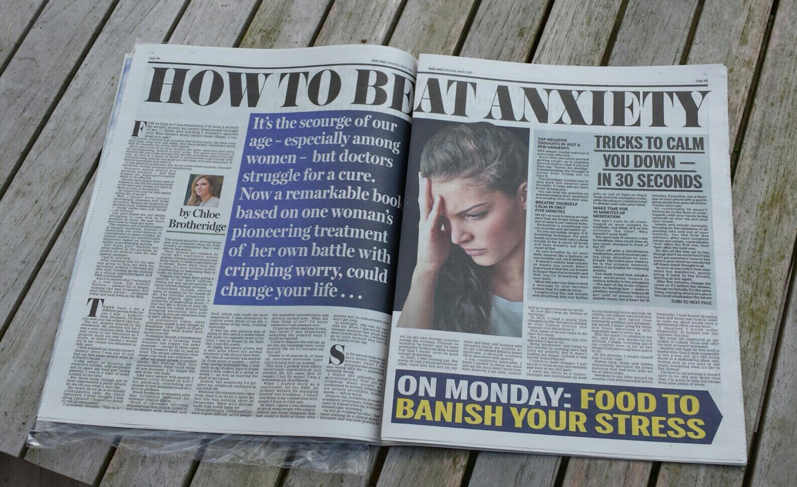anxiety daily mail