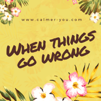 Coping When Things go Wrong