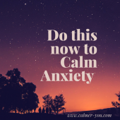 Are you Avoiding your Feelings? Try this now to Calm Anxiety