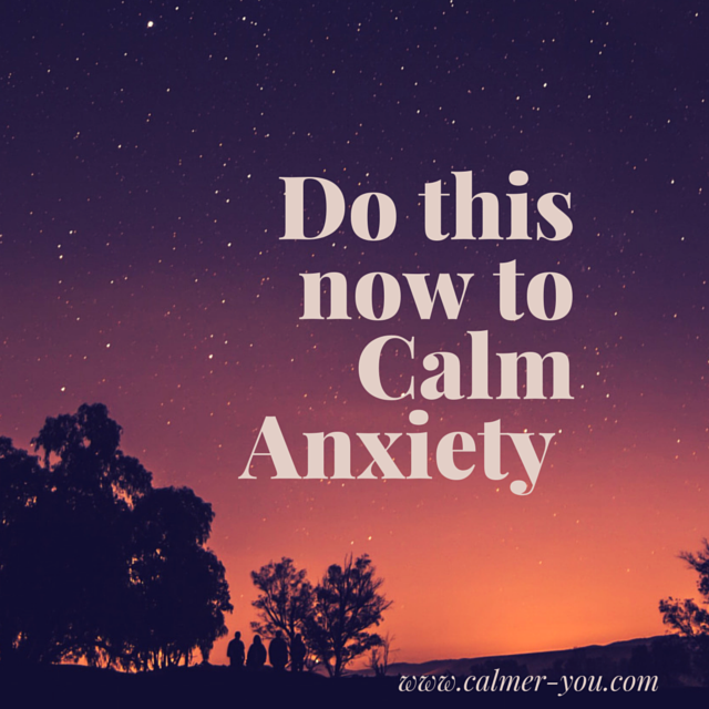 calm anxiety now