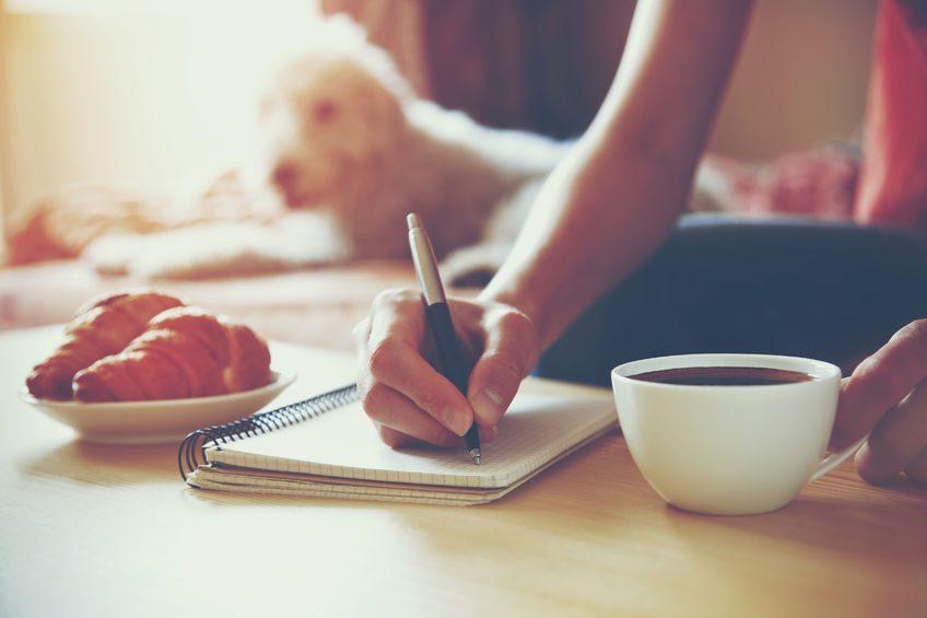 journalling anxiety