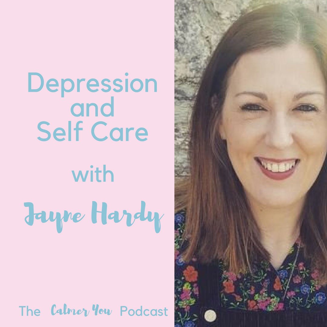 Ep 17. Jayne Hardy from Blurt Foundation on Depression and Self Care